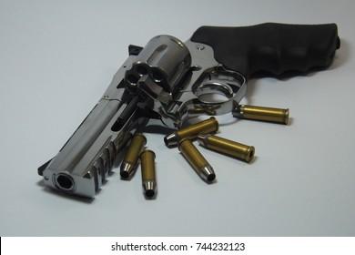357 Caliber Revolver Pistol