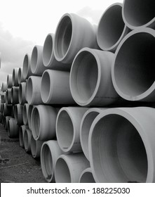 "36"" Pipe stored for use in future water pipeline"