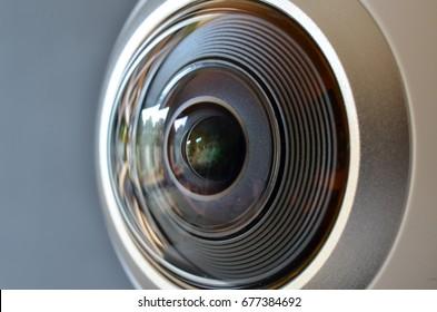 360 degree fish-eye VR camera