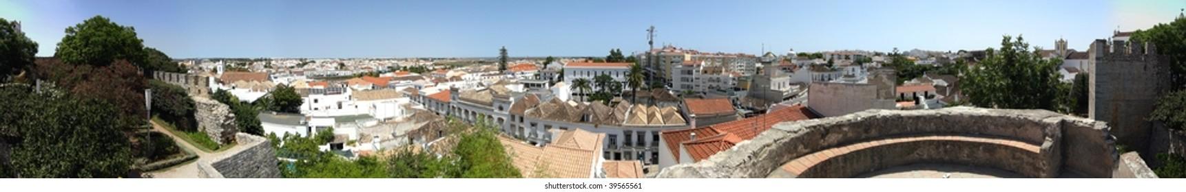 360 degree panorama of Tavira, Portugal