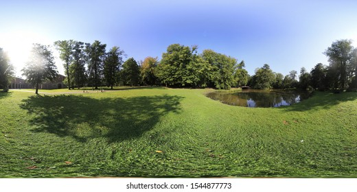 360 panorama of polish natural environment