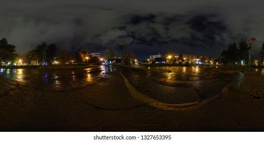 360  photo  at  rainy day night in park
