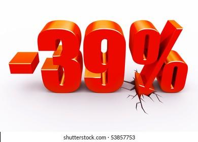 39 percent discount