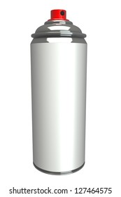 3d aluminum cans. high resolution, white background