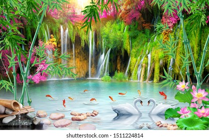 3d amazing natural wallpaper and background