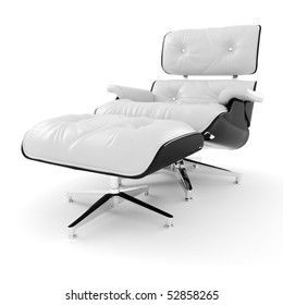 3d arm chair , studio render