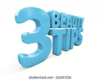 3d Beauty tips