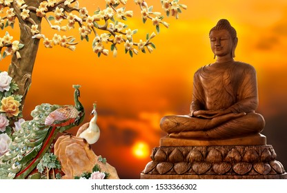 3d Buddha Images Stock Photos Vectors Shutterstock