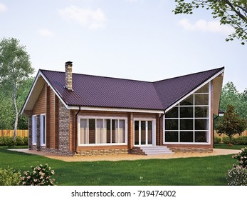 3D building, house project