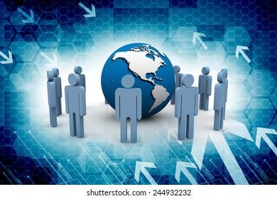 3D Business Network