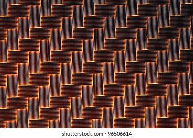 3d Carbon fiber background light
