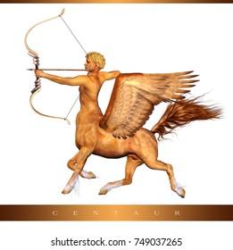 3D centaur