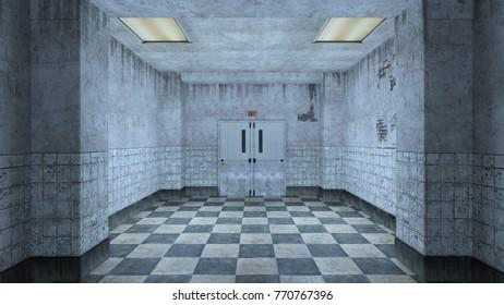 3D CG rendering of the corridor