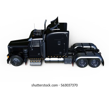 3D CG rendering of a trailer