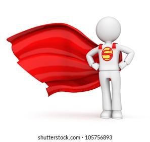 3D character- superhero