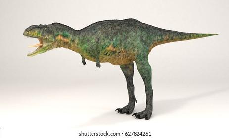 3D Computer rendering illustration of Aucasaurus