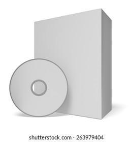 3D. Computer Software, Box, CD.