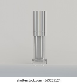 3D Cosmetic Bottle and Perfume