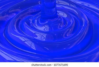 3D cosmetic gel