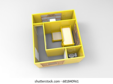 3D design of home space