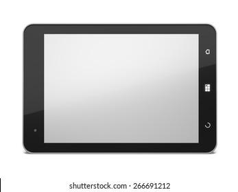 3D. Digital Tablet, PC, Technology.