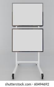 3D display blank
