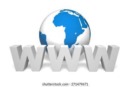 3D. E-commerce, Internet, Store.