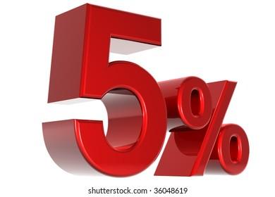 A 3d five percent concept