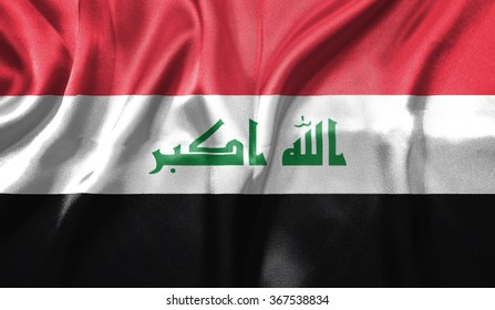 3D Flag of Iraq