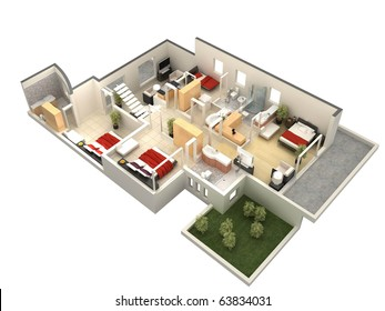 3D Floor Plan