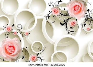 3d flower design 260nw 1266803320