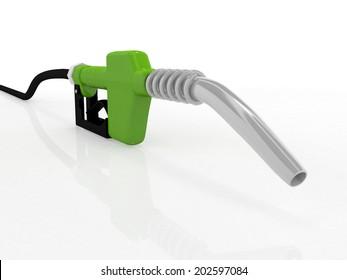 3D gas pump nozzle