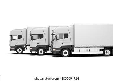 3d global cargo transport concept