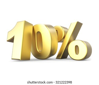 3D golden discount collection - 10%