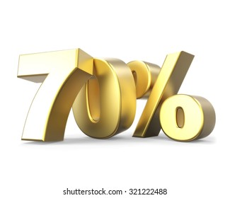 3D golden discount collection - 70%