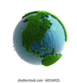 3D Green Planet America