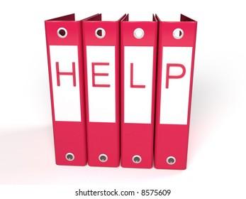 3d help red folders