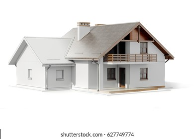 3d house plans images stock photos vectors shutterstock 3d house plan on white background malvernweather Choice Image