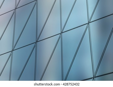 3D illustration abstract architectural pattern