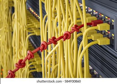 3d illustration - Network problems