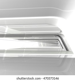 3D Illustration of a tunnel