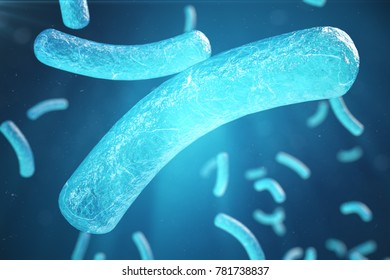 3d Illustration virus, bacteria, cell infected organism, virus abstract background. Hepatitis viruses in infected organism