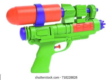 3d illustration of a water pistol
