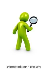 3d image, conceptual Search, examine, investigate