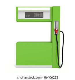 3d image of fuel pump on white background