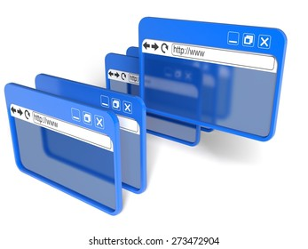 3D. Internet, Web Page, Computer Software.