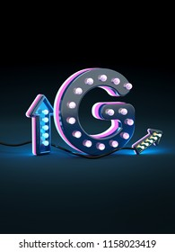 3D letters G three-dimensional letters