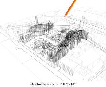 3d linear architecture