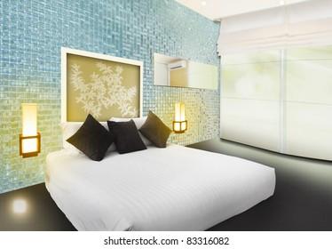 3D Luxury bedroom interior design