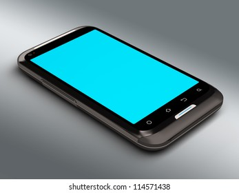3D model of the smartphone